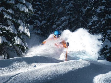 Ein Schneehase dokumentiert Skigeschichte