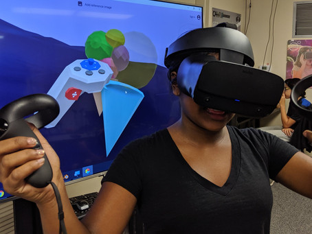 Creating New Immersive Worlds at XR Marin Summer Student Academies 2019!