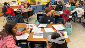 XR Marin Supports VR Learning at San Jose Intermediate School in Novato, CA