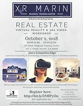 XR Marin Real Estate Workshop Flyer 10.2