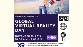 Celebrate Virtual Reality Day at XR Marin! November 23, 2019