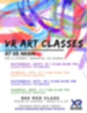 VR Art Classes Flyer - Fall 2019 pic.JPG