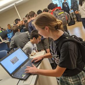 XR Marin Celebrates Computer Science Education Week 2019 at Terra Linda High School