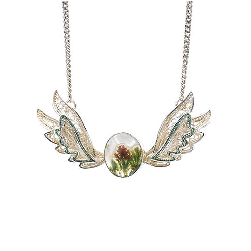 Earth Angel (Necklace) by Mehrnoosh Soltani