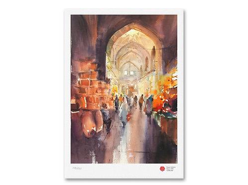 Bazaar by Siavash Mazloumipour