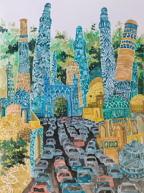 City Density by Mahya Farahbakhsh