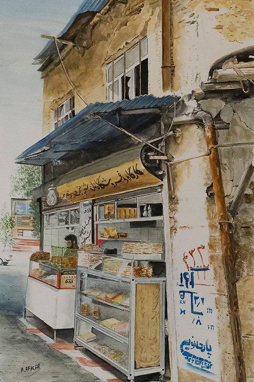 Fresh Bread and Pastries by Aliakbar Daghighafkar
