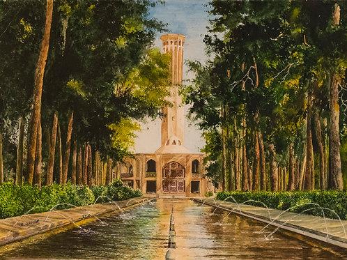 Fountains of Colour by Aliakbar Daghighafkar