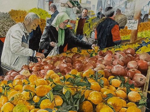 Fruit Bazaar Iran by Aliakbar Daghighafkar