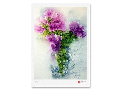 Pink Flowers by Marziyeh Ramezani