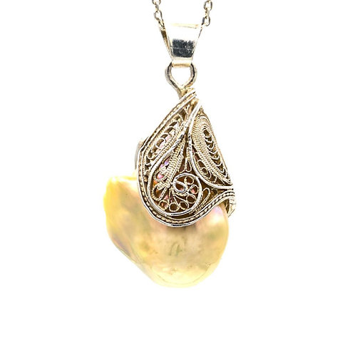 Embraced Earth (Necklace) by Mehrnoosh Soltani