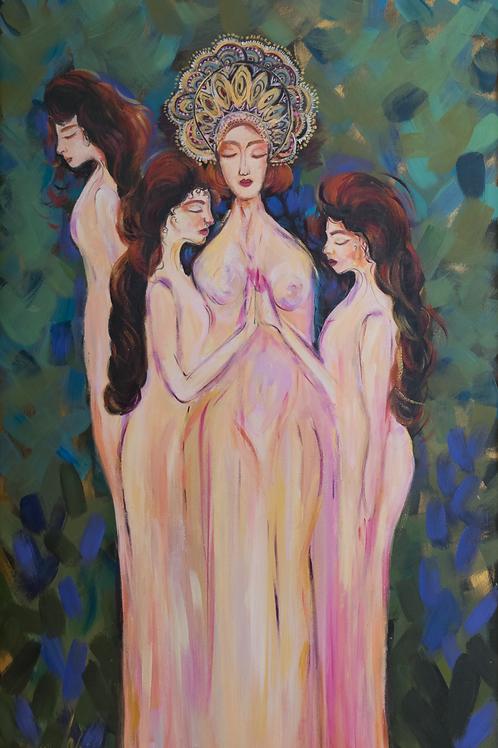 Sorceresses by Fatemeh Edrisi