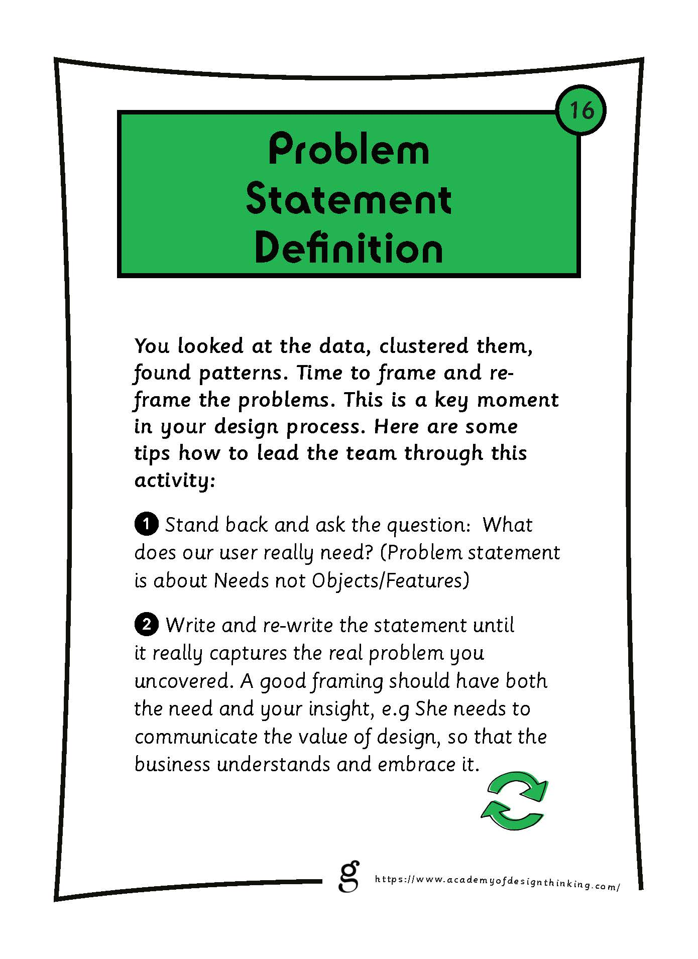 Problem Statement Definition