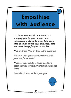 Empathise with Audience