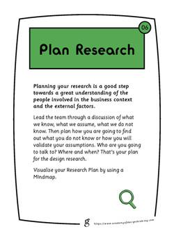 Plan Research