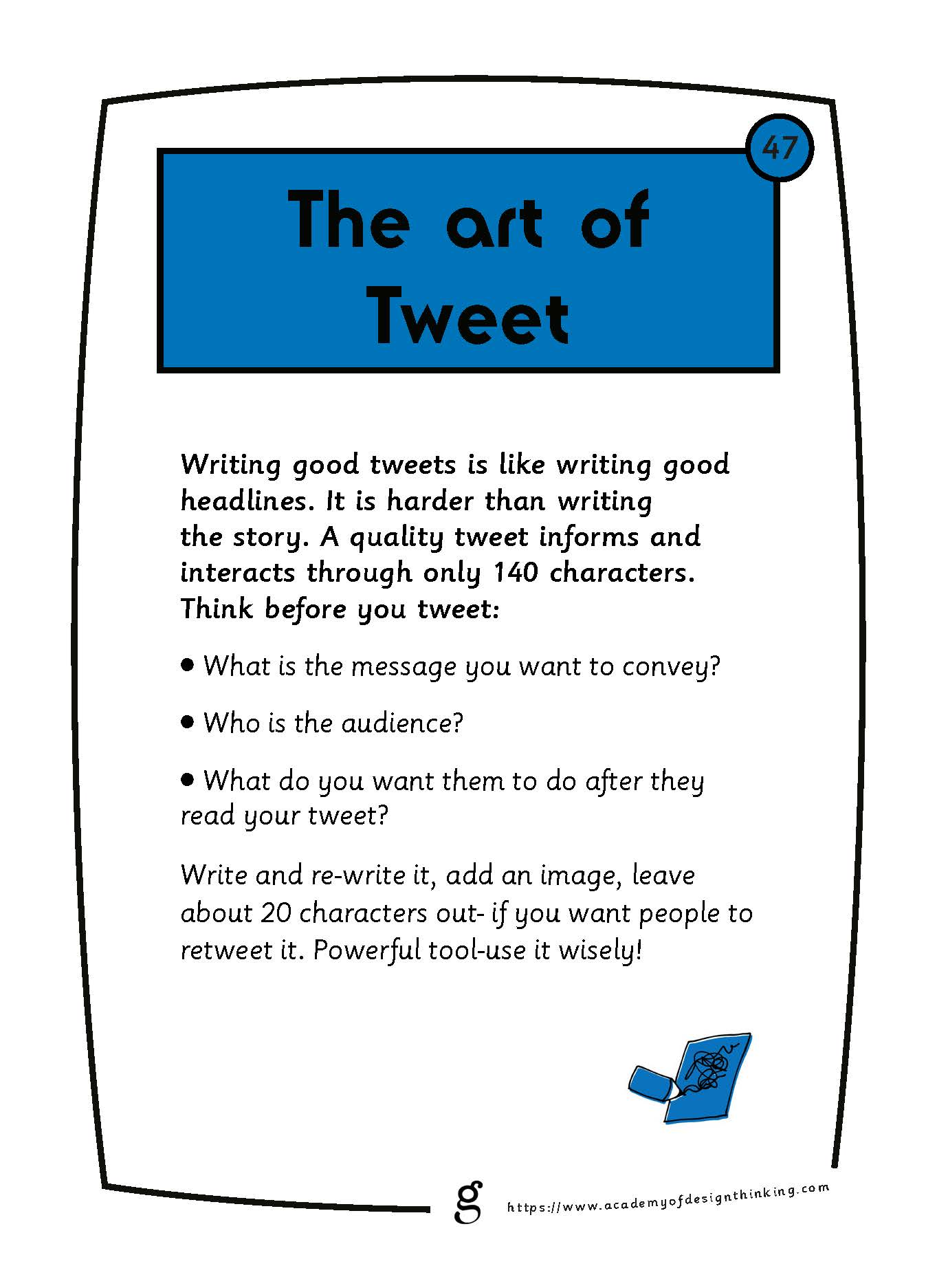 The Art of Tweet