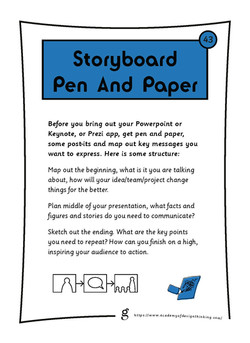 Storyboard Pen and Paper