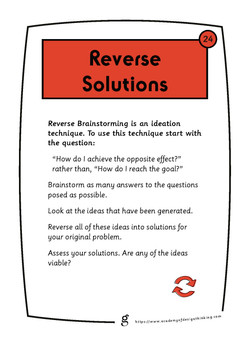 Reverse Solutions