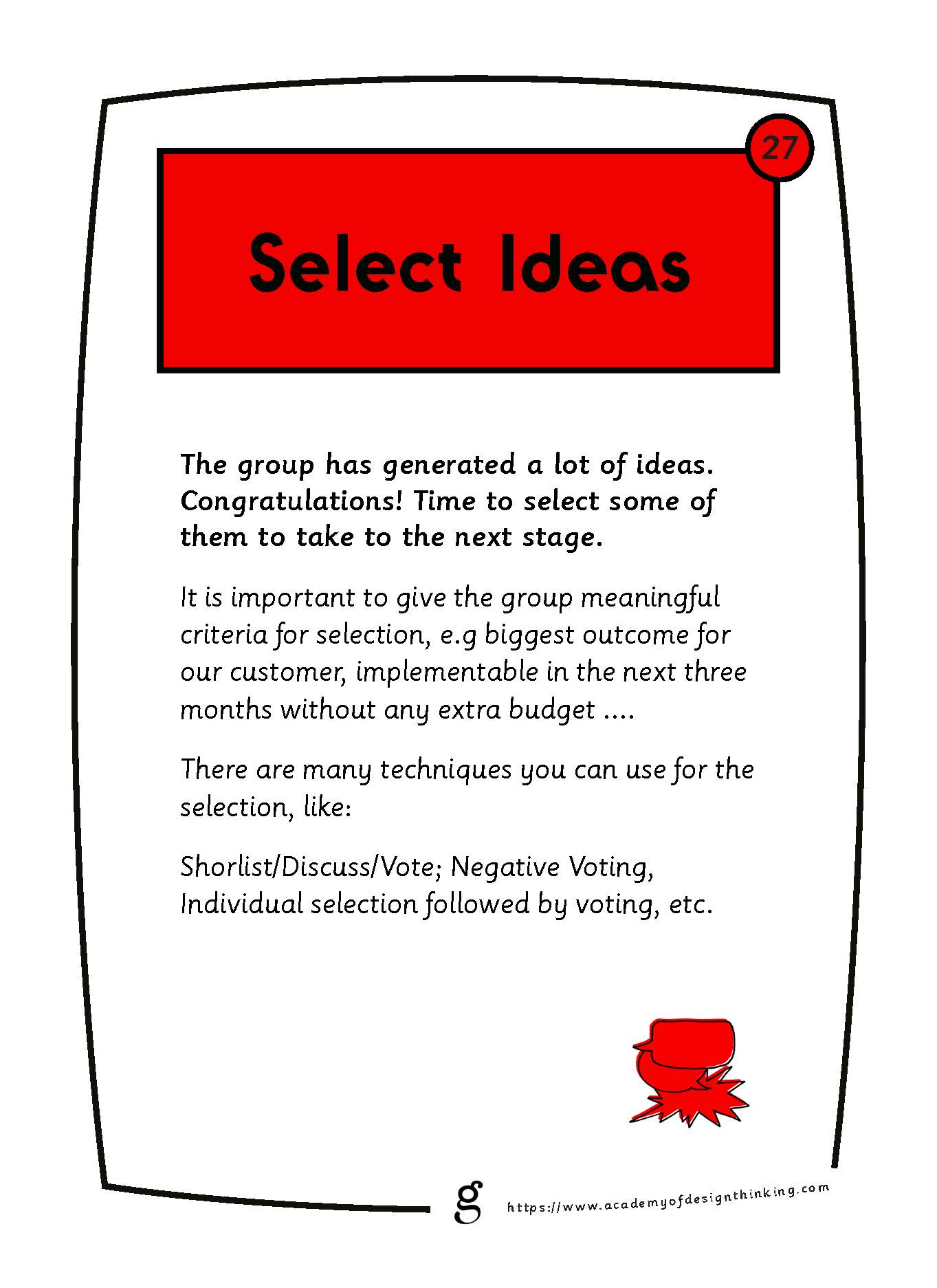 Select Ideas