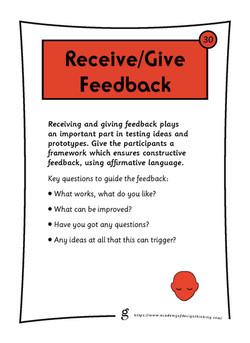 Receive/Give Feedback
