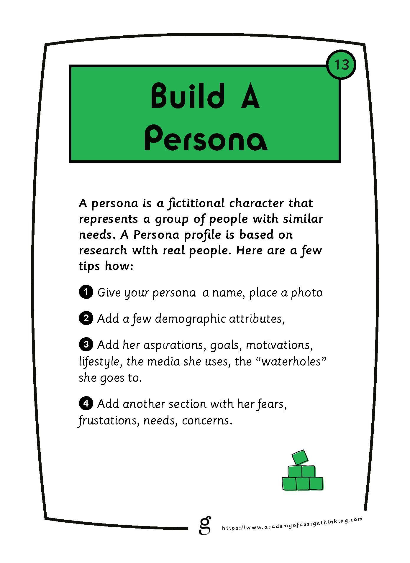 Build a Persona