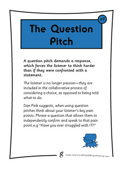 The Question Pitch