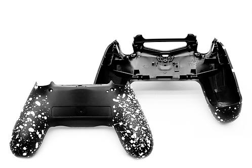 PS4 Grip Case schwarz-weiß JDM055 Gehäuse