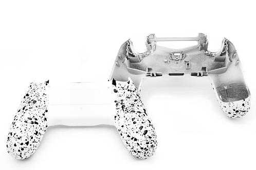 PS4 Grip Case weiß-schwarz JDM055 Gehäuse