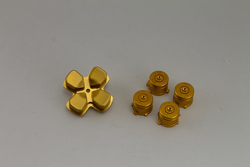 PS4 Bullet Buttons Gold