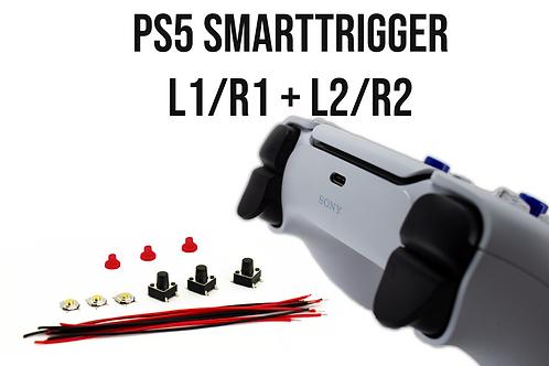 PS5 Smarttrigger Smartbumper Taster Set