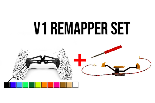 PS4 V1 Remapper Set mit ARES Paddle (gelötet)