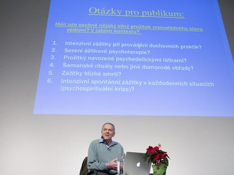 Přednáška Stanislava Grofa v DOX Praha 15. - 16.12.2014