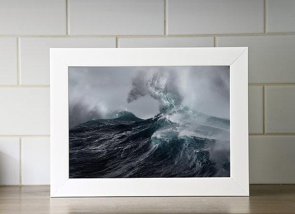 A4 Framed Print ( Flux XX)