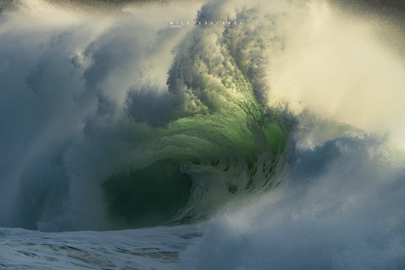 Seascape and wave photography Cornwall