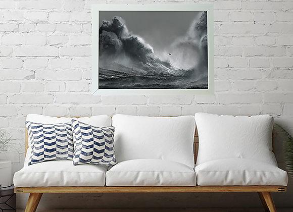 Perilous 20 x 16 Framed Print