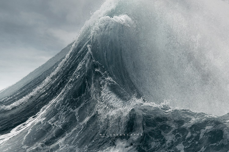 Wave and seascape photography Cornwall
