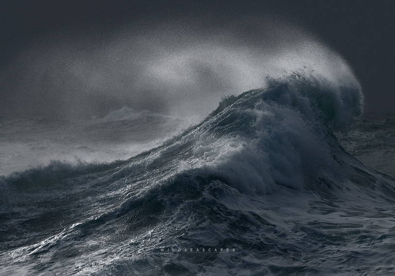 Cornwall storm photography