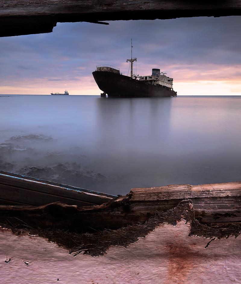Lanzarote Photography Workshop - Shipwreck