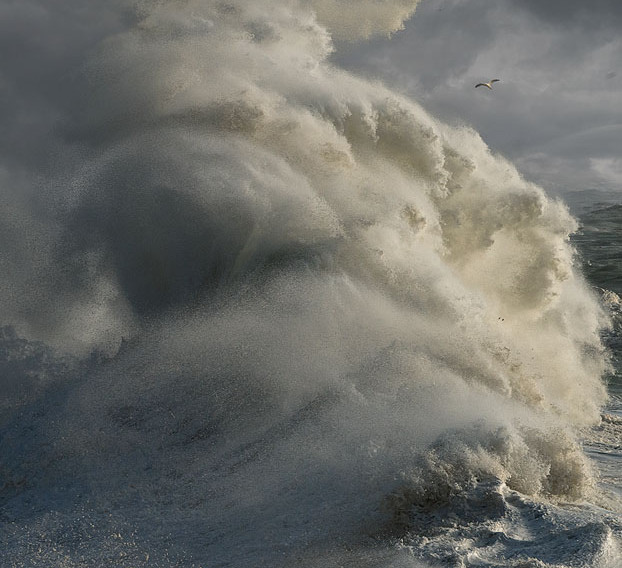 Porthleven storm Cornwall