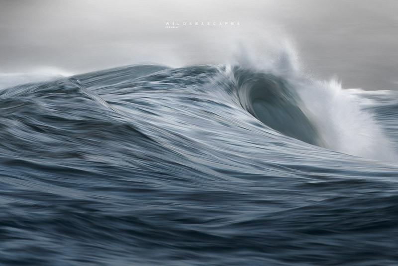 Long exposure seascape photography Cornwall