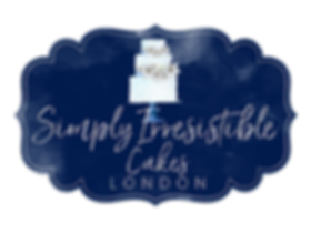 simply irresistible cakes london logo