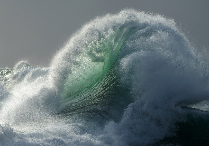 Cornwall wave and seascape photography