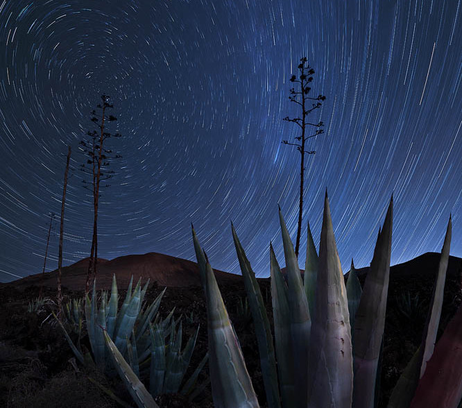 Star Trail Lanzarote Photography workshop 2022