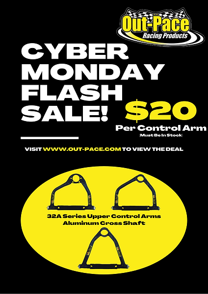 Blue and Yellow Cyber Monday Sale Announ