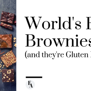 World's Best Brownies (and they're Gluten Free!)