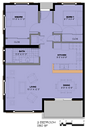 Summer Homes 2 Bedroom Floor Plan