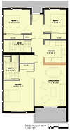Summer Homes 2 Bedroom ADA Floor Plan