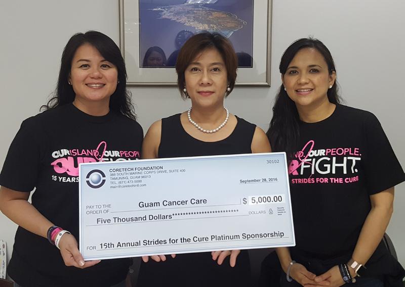 Guam Cancer Care donation