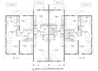 Summer Town Estates 1 and 2 Bedroom Floor Plans