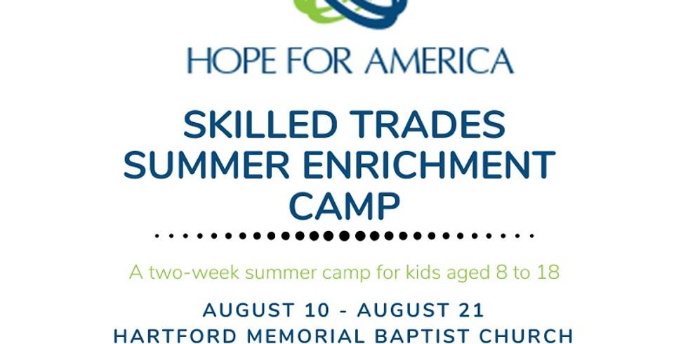 Skilled Trades Summer Enrichment Camp
